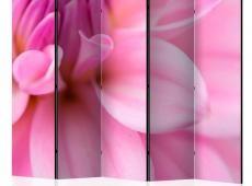 Paraván - Flower petals - dahlia II [Room Dividers]